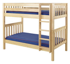 Maxtrix Medium Bunk Bed W Straight Ladder TwinTwin - Maxtrix bunk bed