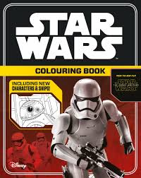 star wars the force awakens colouring book star wars colouring
