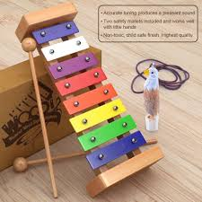 amazon com wooden xylophone for kids best perfectly sized