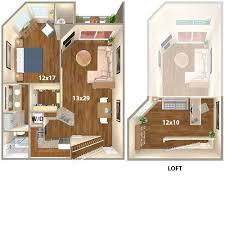 loft apartment floor plans 2304