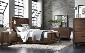 dark brown wood bedroom furniture dark brown wooden bed with headboard next to bedside table on