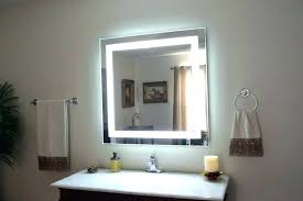 Led Lights Bathroom Mirrors With Built In Lights Mirror