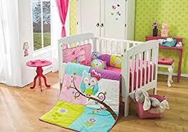 Owls Crib Bedding Special Edition Doroty Owl 6 Pcs Crib Bedding Set