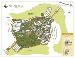 San Diego State Campus Map by Concordia University Irvine