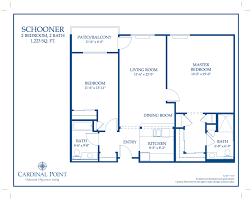 floor plan gallery u2013 oakmont of cardinal point