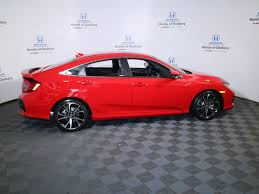 2017 new honda civic sedan si manual at honda of danbury serving