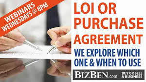 Letter Of Intent For Property Purchase by Letter Of Intent Loi U0027s Vs Purchase Agreement Which One When