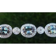 diamond bracelet styles images Estate 23 14 ct multi fancy color tanzanite diamond bracelet jpg