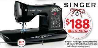 black friday sewing machine black friday deal singer heritage 24 stitch electronic sewing