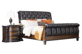 King Sleigh Bed Cabernet King Sleigh Bed At Gardner White