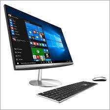 ordinateur bureau mac ordinateur de bureau mac 782976 asus aio zn242ifgk ca001r pc de