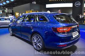 renault talisman 2015 2016 renault talisman estate rear three quarter at the iaa 2015