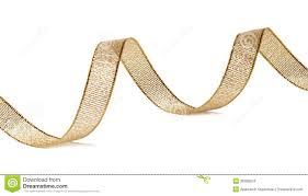 gold glitter ribbon beautiful glitter gold ribbon curl isolated stock photo image
