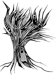images of drawing abstract tree sc