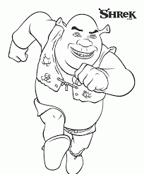 donkey shrek pictures coloring