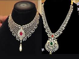 diamond sets design diamond necklace sets with weight