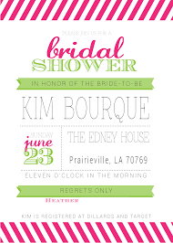 photo wedding shower invitations pink image