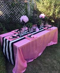 Barbie Themed Baby Shower by Tutu Table Skirt Custom Made Wedding Birthday By Baileyhadaparty