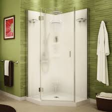 Stall Shower Door by Bathroom A Guide To The Best Corner Shower Stall Kits Frameless