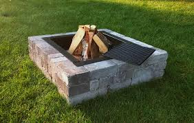 Fire Pit Kit Stone by Victorian Stone Outdoor Wood Burning Fire Pit Kit