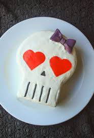 Halloween Cakes Easy To Make by Skull Cake For Halloween A Simple Step By Step Tutorial