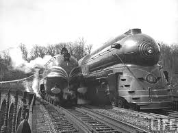 Trains In America Vintage Locomotives Train The