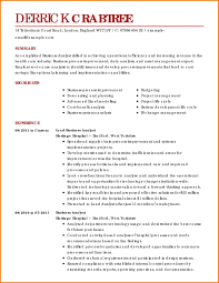 professional business resume template sle business resume template resume for study business resume