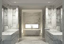 White Marble Bathrooms Atticmag - Bathroom marble