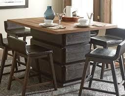 dining room table elegant counter height dining table designs dining room table cool brown rectangle minimalist wood counter height dining table with 6 chairs