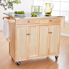 kitchen islands with wheels luxury brown carving wooden storage