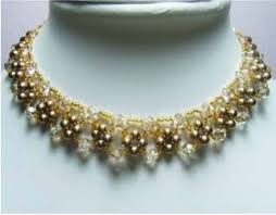 making necklace with bead images Elegant beaded necklace tutorial 8 steps with pictures jpg