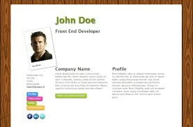 free resume template for an online cv u2013 ontwerps
