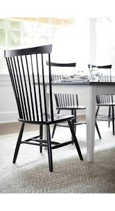 Crate And Barrel Dining Room Marlow Ii Black Wood Dining Chair Crate And Barrel Marlow