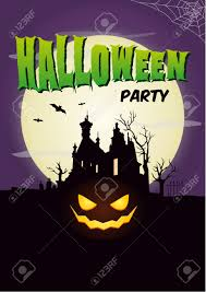 vector halloween halloween party poster royalty free cliparts vectors and stock