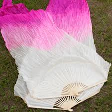 silk fans silk flow fans silk veil fans festival collection
