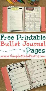 25 journal pages printable ideas notebook