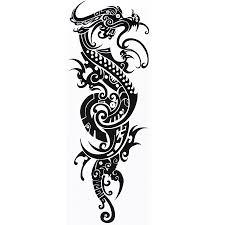 tribal chinese dragon tattoos online buy wholesale temporary dragon tattoos from china temporary