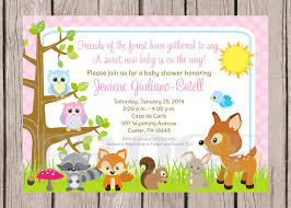 woodland baby shower invitations printable woodland forest animals baby shower invitation forest