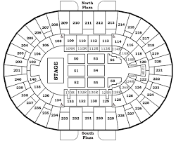 seating charts north charleston coliseum u0026 performing arts center