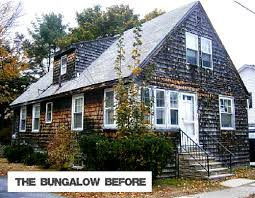craftsman style home turn the garage to the side a craftsman style bungalow makeover in maine by sopo cottage