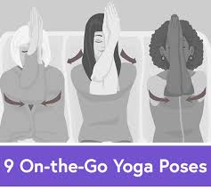Desk Yoga Poses 9 Easy Yoga Poses To Survive Work Stress And Travel