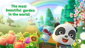 baby panda u0027s flower garden android apps on google play