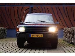 land rover discovery classic used land rover discovery 2 5 tdi commercial automaat for sale at
