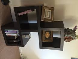delightful floating box shelves with birch plywood and painted