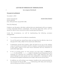 Termination Letter Template Ending Employment Letter Letter Confirming Ending Employment Ais