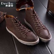 Comfortable Casual Boots Aliexpress Com Buy Daviko Fashion Men Shoes Spring Autumn Ankle
