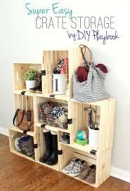Best  Crate Storage Ideas On Pinterest Desk Ideas Desk - Diy bedroom storage ideas