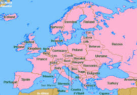 map of all the countries in europe the world wide web library oceanography europe clickable