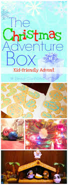the christmas box the christmas adventure box kid friendly advent being