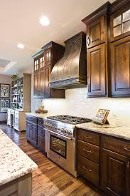 Custom Kitchen Cabinet Doors Online by Knotty Alder Custom Cabinetry Kitchen Cabinets Stacked Cabinet